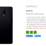 OnePlus 5 Found Listed On OPPOMart, Reveals Specifications And Prices
